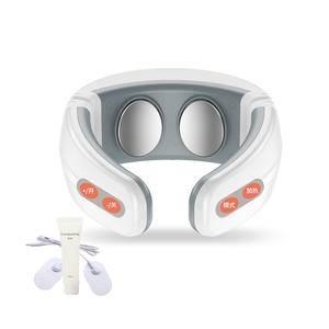 鑫科 智能颈椎按摩器 肩颈按摩器 多功能颈部按摩仪便携车载办公室家用