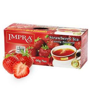 斯里兰卡原装进口 IMPRA 英伯伦草莓味调味茶(2g*30袋) 60g