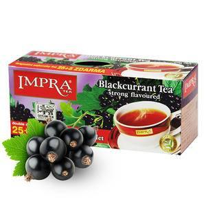 斯里兰卡原装进口 IMPRA 英伯伦黑加仑味调味茶(2g*30袋)60g