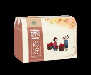 首农京乡枣尚好礼盒 三星级和田大枣250g*4袋