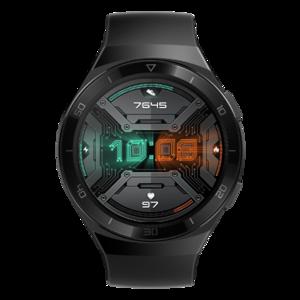 HUAWEI WATCH GT 2e 运动款(曜石黑)两周续航 百种运动类型 音乐播放 多彩表盘 华为智能手表