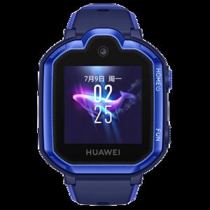 华为儿童手表 3 Pro(极光蓝)视频通话 高清拍照 九重定位 4G全网通学生电话手表