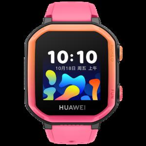 华为儿童手表 3s(蜜桃粉)4G全网通 八重精准定位 腕上学习助手 智能语音助手 零花钱管理 安全认证 学生智能电话手表